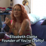 Elizabeth Clarke, Founder of You're Crafty!